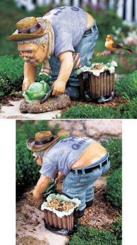 Gnome Garden: Old Garden Statue