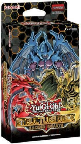 Yugioh TCG Sacred Beasts Of Chaos Structure Deck NEW SEALED SHIPS 7/10