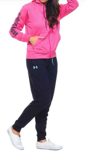 New With Tags Womens Under Armour Storm Sweatpants Fleece Jo