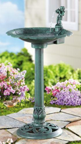 Bird Bath Fountain Ebay