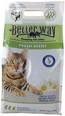 Ultra Pet Better Way Clumping Fresh Scent Cat Litter with Western Bentonite