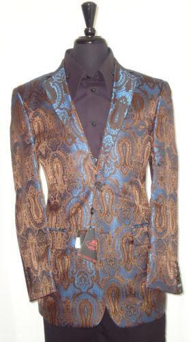 Mens Paisley Jacket Ebay