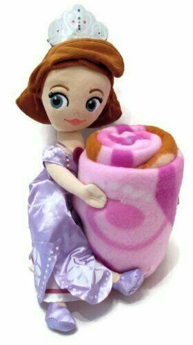 Sofia the First Throw and Pillow Set