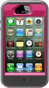 iPhone 4 Otterbox Defender Pink Black