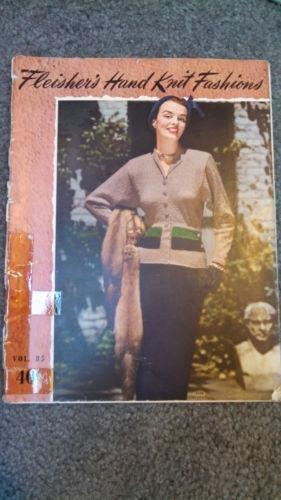 Vintage Knitting Patterns Ebay