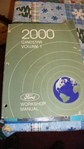 Ford Windstar Manual