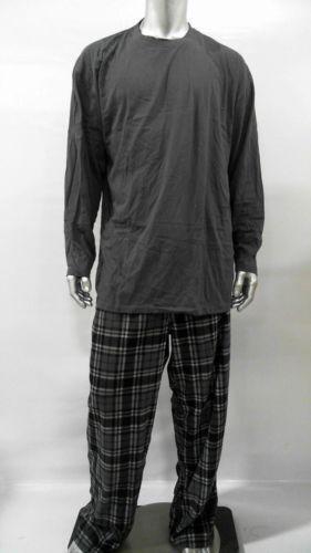 Mens Fleece Pajamas Ebay