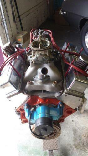 on 427 Big Block Chevy Engines