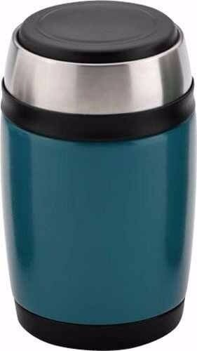 Grunwerg Pioneer Vacuum Tea Food Flask Soup With Spoon, 0.58L Hot or Cold