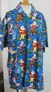 Santa Hawaiian Shirt
