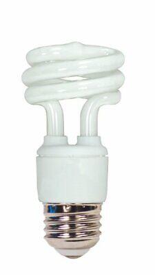 S7215 11W E26 Base T2 Mini Spiral 4100K Equivalent 40W Lamp Enclosed (11w Spiral)