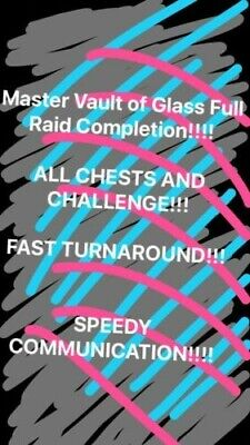Master Vault of Glass Recovery (Chests and Challenge) Xbox (PC+PS via Crossave)