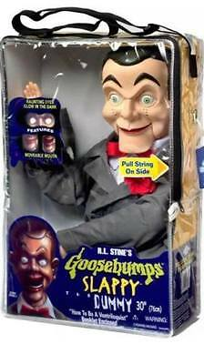 Goosebumps SLAPPY Ventriloquist Dummy Doll NEW Glow in Dark Eyes Unopened