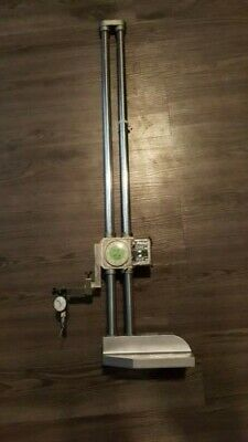Mitutoyo Dial Height Gage 192-114 .001-24 With Dial Test Indicator