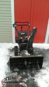 """10.5HP 30"""" Craftsman Snowblower"""