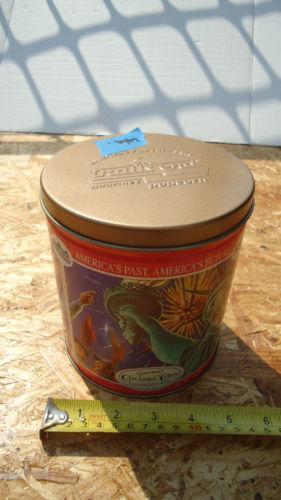 Empty Tin Can Stock Photography: Empty Popcorn Tins