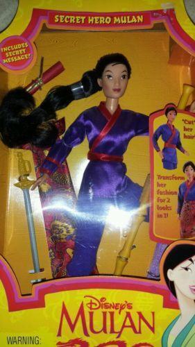 Disney Princess Mulan Doll Ebay