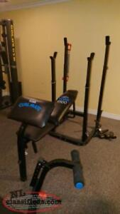York 9500 weight bench