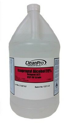 Cleanpro Isopropyl Alcohol Ipa Usp-grade 99 Case Of 4 Gallons