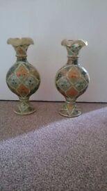 Camel skin vase