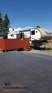 5th wheel with bunks!