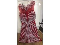 Beautiful dress, brand new, never worn! Size small - bright red! Selling for half price!