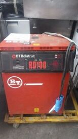 Forklift charger BT Rolatruc RD100 used on our reach truck 240v in - 48v 80A out