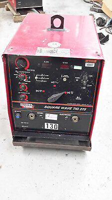 Lincoln Square Wave Tig 275 Ac Dc Tig Stick Welder Industrial Aluminun Stainless