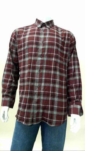 Mens tall flannel shirts ebay for Large tall flannel shirts