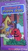 Clifford's Puppy Days VHS