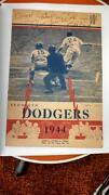 Brooklyn Dodgers Scorecard