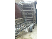 Ifor williams tipping trailer TT105