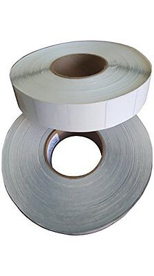 2000 Rf 8.2mhz Checkpoint 410 Compatible Labels 4x4 Plain White 500 Per Roll