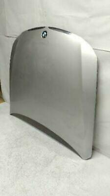 2007-2010 BMW 335i Hood Metallic Silver Front Side FACTORY