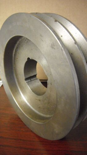 """DODGE 2A6.4B6.8 1610 TAPERLOCK SHEAVE, 2 GROOVE, 7.15"""" OUTER DIAMETER, NOS"""