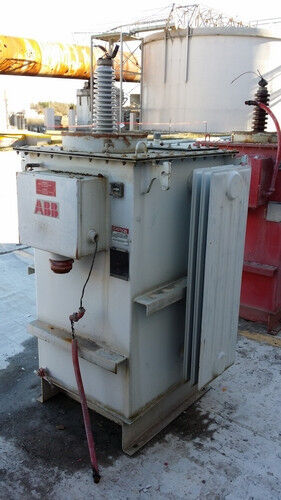 Used 115.7 KVA ABB Transformer Rectifier Power Unit LV 400 HV 53550 Wisconsin