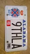 Alabama License Plate