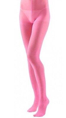Pink Glitter Sparkle Tights Hosiery XL Plus Size Fancy Dress  (16-20)  (Glitter Tights Plus Size)