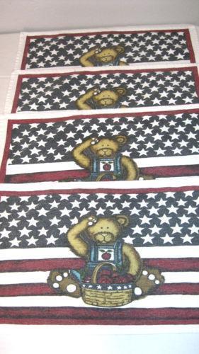 Patriotic Placemats Ebay