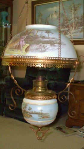 Hanging Kerosene Lamp Ebay