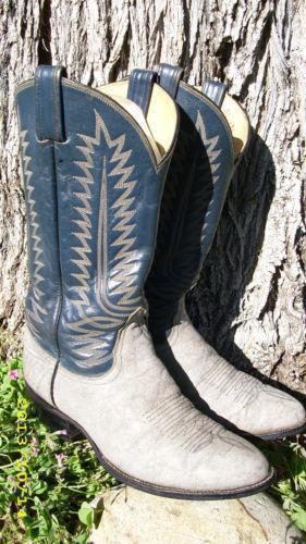 Elephant Skin Boots Ebay