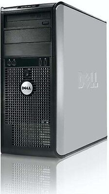 Dell Core 2 Duo Desktop Computer Pc   1Tb   8Gb   Wifi   Windows 7 64Bit
