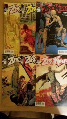 Zero Killer Collection Comics #1-6 by Dark Horse books