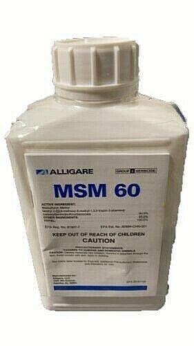 MSM 60DF Herbicide - 16 Ounces 60% Metsulfuron Methyl by Alligare