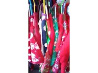 Christmas Joblot 50 Mixed Items. Christmas jumpers, Baby grows , Dresses, ETC..