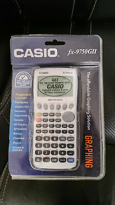 Casio Fx 9750 Gii Graphing Calculator