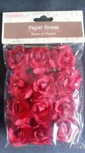 Paper Roses Crafts Ebay