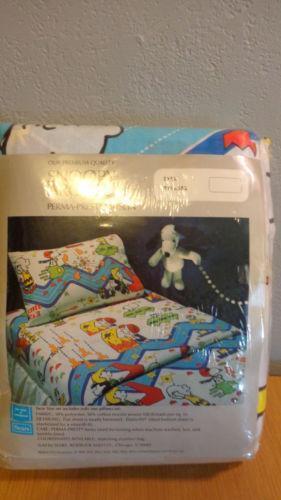 Snoopy Bedding Ebay