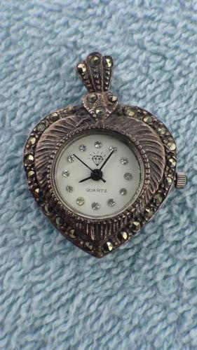 Sterling Silver Pendant Watch Ebay