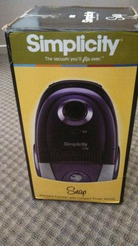 Simplicity Vacuum Cleaner Ebay